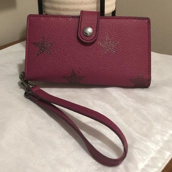 Coach phone wallet/wristlet